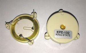 Capsule piézo 3 électrodes