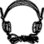 Vieux casque audio