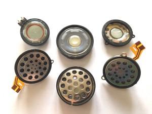 Capsules électrodynamiques d'écouteurs